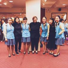 Crescent Girls School Symphonic Band with Alumni April 2016