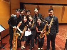 APSA members at the 6th Singapore Saxophone Symposium