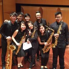 APSA members at the 6th Singapore Saxophone Symposium