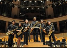 Saxophone Section of the Mus'art Wind Orchestra