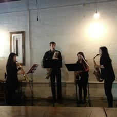 Berkeley St Saxophone Studio at Captain's of Industry, Classical Revolution Programme