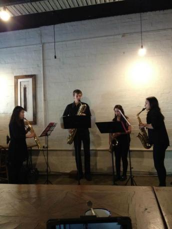 Berkeley St Saxophone Studio at Captain's of Industry, Classical Revolution Programme
