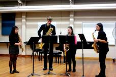 Berkeley St Saxophone Quartet Recital, November 2013