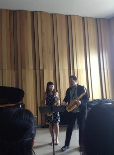Masterclass with Professor Kenneth Tse from the USA in Strasbourg (17th World Saxophone Congress)