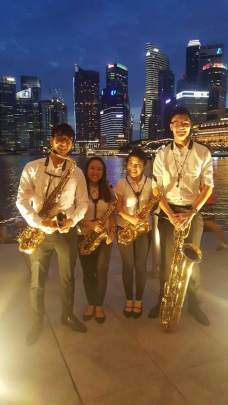 Windstar Ensemble at ENKA Goldies Night 2016