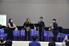 MM Saxophone Quartet at APSA 2016