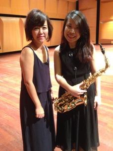 Godba partners. With Jessica Leong (Piano)