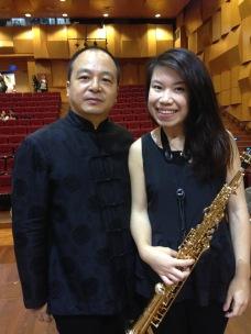 With Professor Ao Kun
