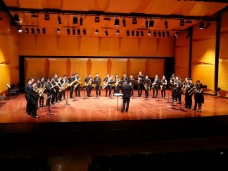 Combined saxophone ensemble, Singapore, Taiwan and Thailand