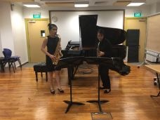 Paganini Lost partners, Alexis Seah & Michellina Chan (Saxophones)