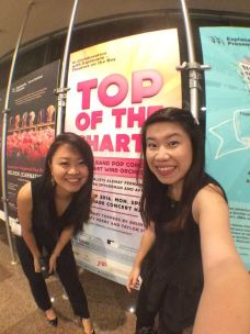 Our poster at the Esplanade