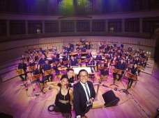 Singers and Mus'art Wind Orchestra, Photo Credit: Afwan