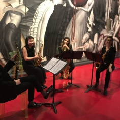 Quartet concert at the Musée d'Aquitaine
