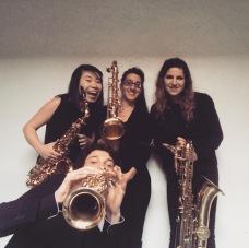 Saxophone Quartet de CRR Bordeaux