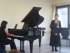 Performance with Pianist Hilomi Sakaguchi