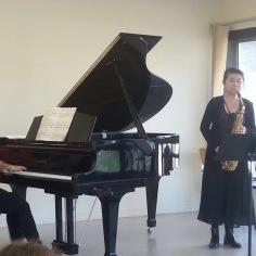 Performance with Pianist Hilomi Sakaguchi