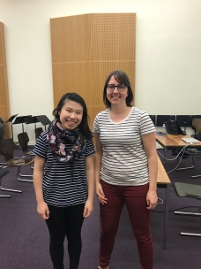 After a master class with Dr Allison Balcetis