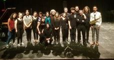 After a concert at the Conservatoire de Bordeaux