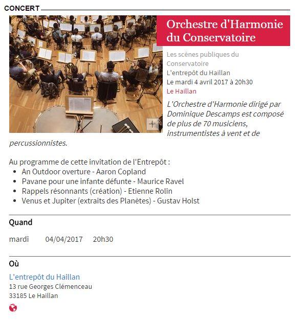 orchestre d harmonie bordeaux