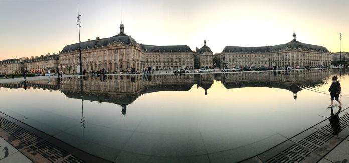 Miroir d'eau, Bordeaux, France