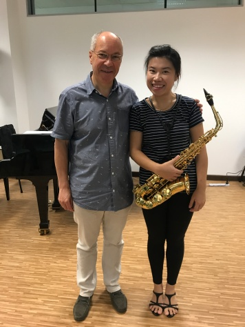 After the masterclass with Maestro Alain Crepin (Belgium)