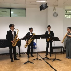 Xin Saxophone Quartet's performance