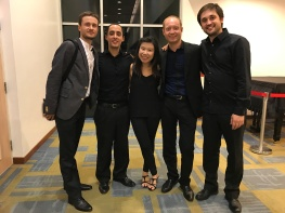 With Keuris Quartet (Netherlands)