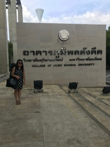 Arrival at the Mahidol College of Music
