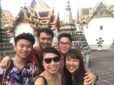 Cultural visit to the Wat Pho (Temple of Reclining Buddha)