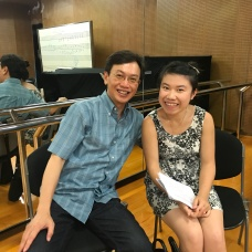 With jury, Lin Chien-Kwan