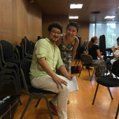 With jury, Masataka Hirano
