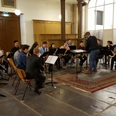 CvA-Sax performance at Oosterkerk, Amsterdam